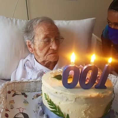 Tuiniqua-inwoner 100 jaar oud