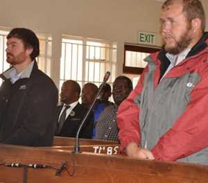 Witness denies Coligny farmers arranged with cops to bring 'thieves' to police station