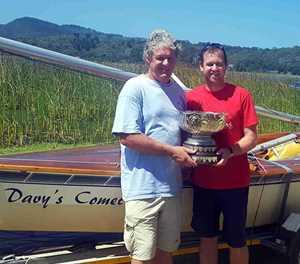 Knysna team wins GP14 sailing contest