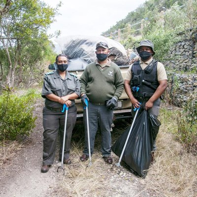Sanparks rangers step in for Africa Day