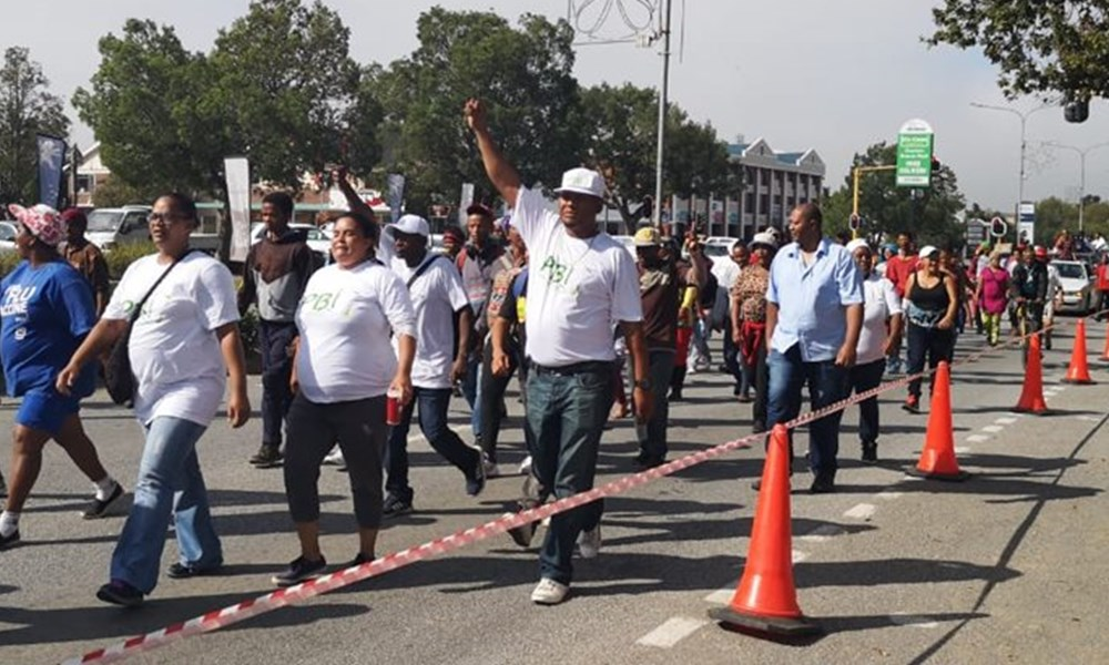 Residents march to George Municipality