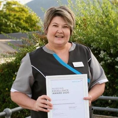 Suster Erasmus vereer vir uitmuntende werk