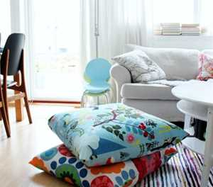 Get cushy with more cushions