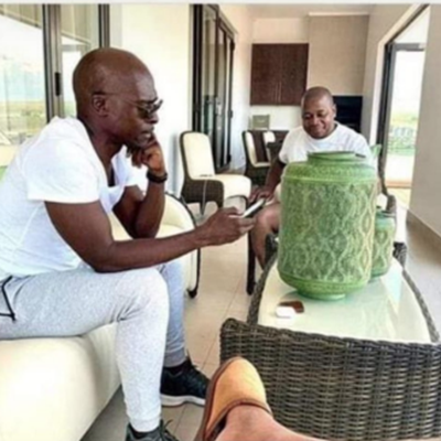 Pic of Masina at Manana's house emerges, mayor says it was before lockdown