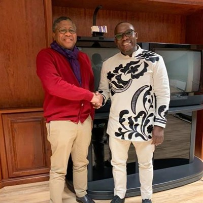 Bongi finally meets with Mbaks