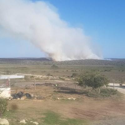 Brande in Blombos-omgewing