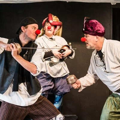Shakespeare on steroids at George Arts Theatre