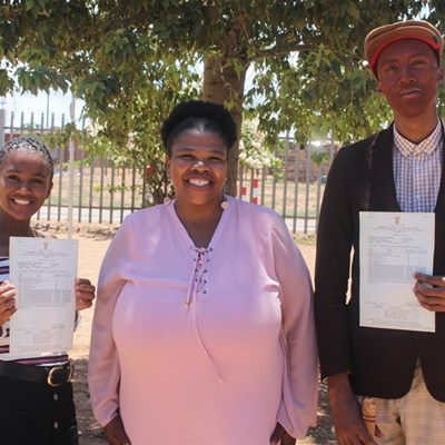 88,6% pass rate for Fezekile Secondary School