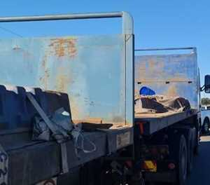 Hijacked truck found with R10m worth of copper