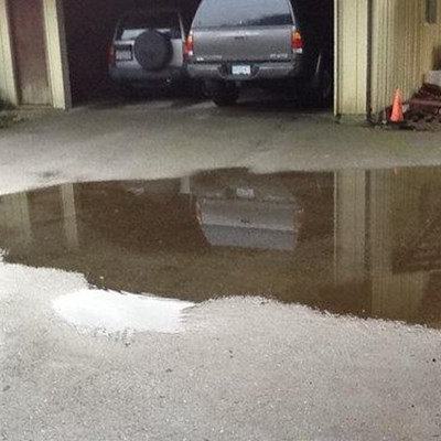 Watch out for signs of damp when viewing homes for sale