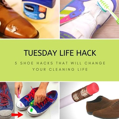 5 shoe hacks that will change your cleaning life