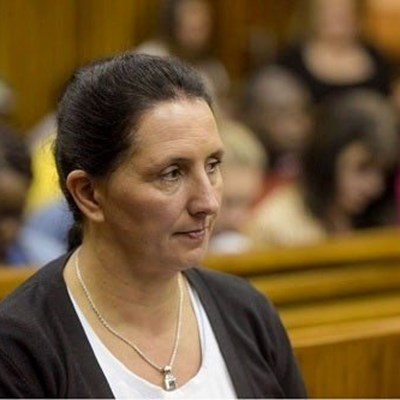 Racist Vicki Momberg hands herself over to police