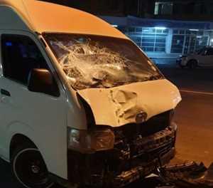 Pretoria pedestrian hit by taxi, dragged several metres
