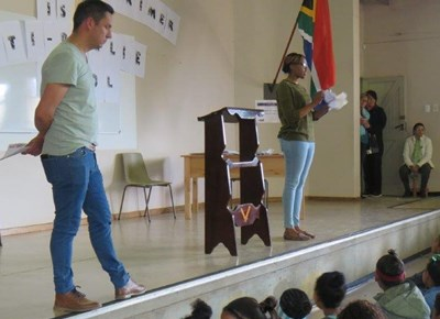 Voorwaarts Primêre skool anti-boelie bewusmakingsdag