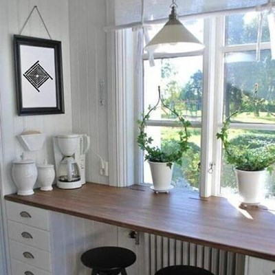 Make the most of a tiny kitchen