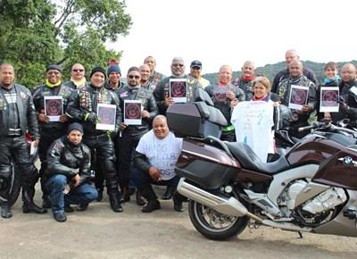 Garden Route bikers ride in protest