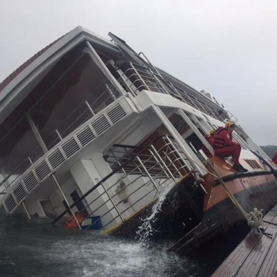 Update: Paddle Cruiser capsize