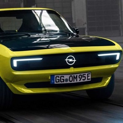 Opel Manta comes back to life but as an electric car
