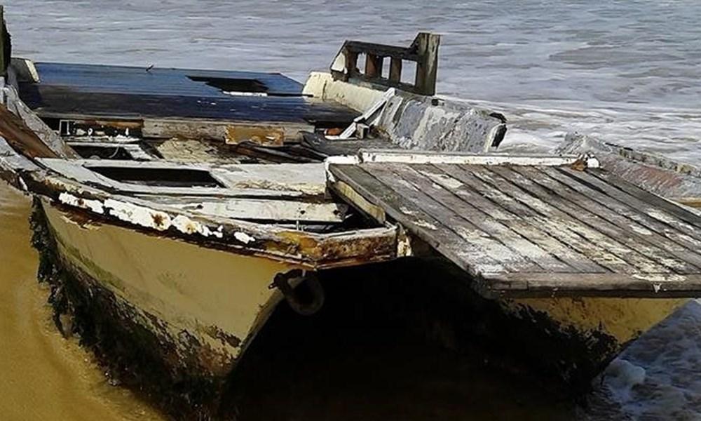 Boat found on Outeniqua Beach