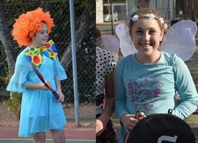 Laer Volkskool tennis pretdag