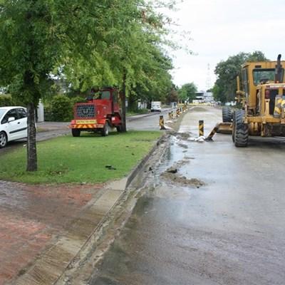 Caledon Street update