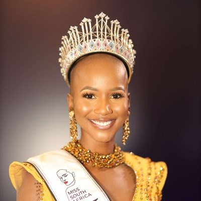 Congratulations pour in for new Miss SA