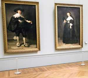 French, Dutch teams unveil two newly restored Rembrandts