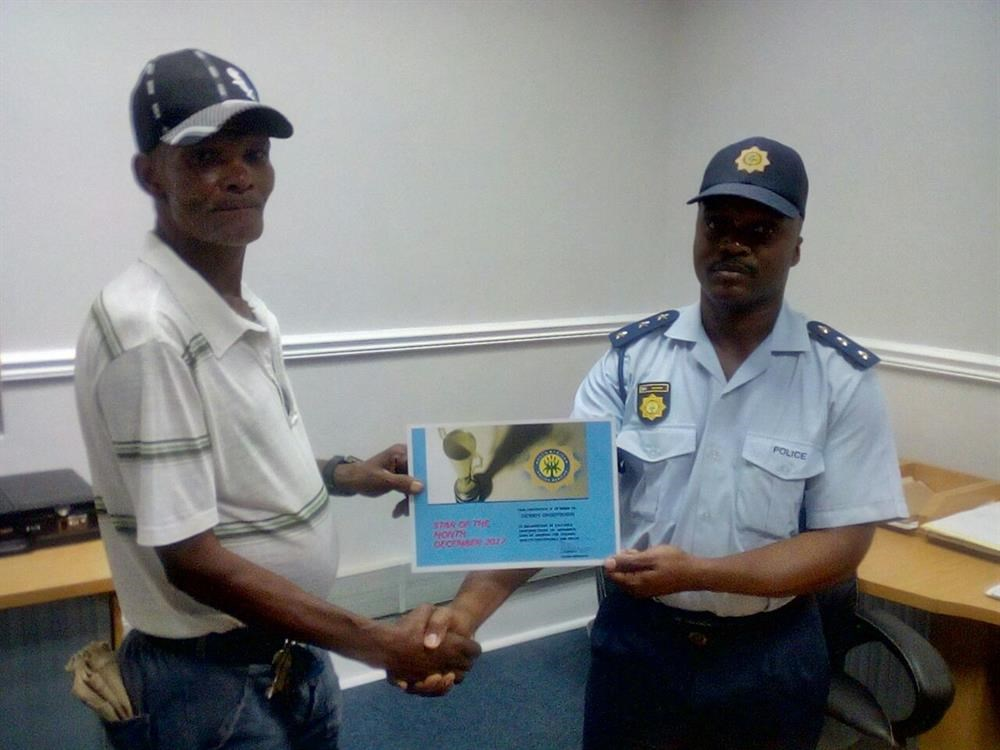 SAPS announces Star of the Month