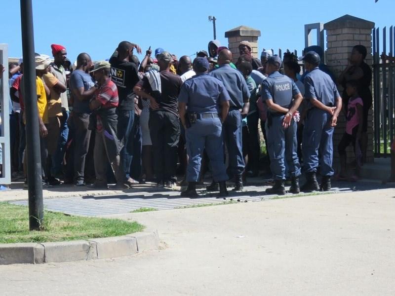 Update: Protestors reach agreement