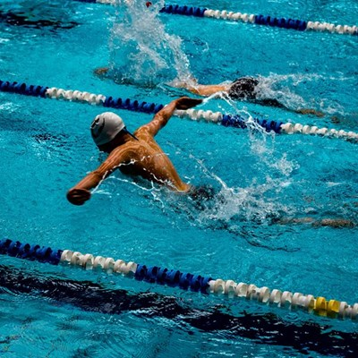 Fish Eagles Masters swimming winter challenge