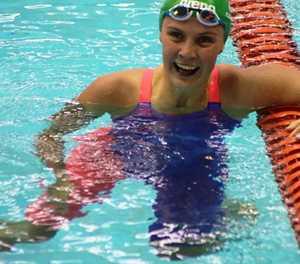 Sensational Tatjana Schoenmaker is still floating on cloud nine