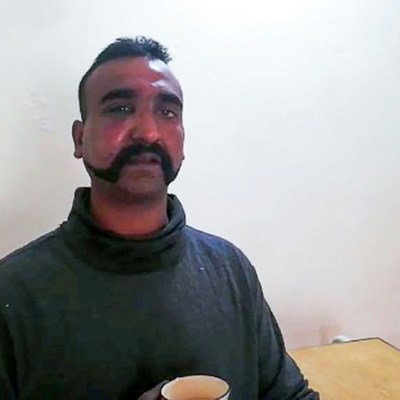 Indian pilot captured in Pakistan becomes face of escalating conflict