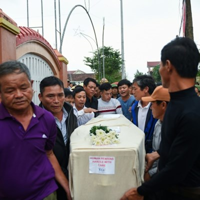 Tears and prayers as Vietnam village mourns cousins killed in UK truck tragedy