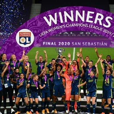 Dominant Lyon beat Wolfsburg to claim fifth straight Women's Champions League title
