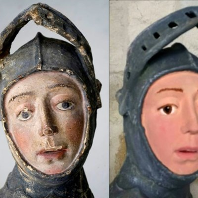 Infamous botched art restoration in Spain gets makeover