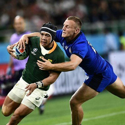 South Africa's Kolbe '80-90 percent' for quarter-final after injury