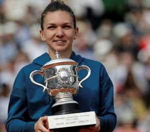 Relaxed Halep heads into French Open as clear favourite