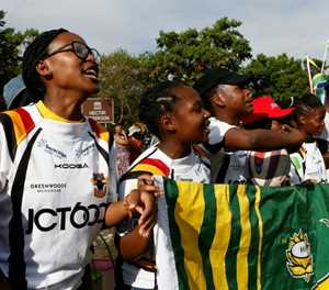 Soweto's rugby women look to Springboks for inspiration