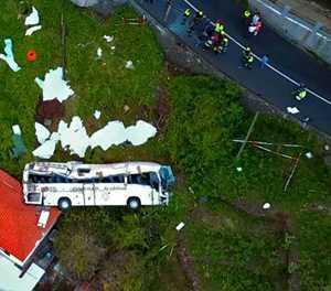 29 German tourists die in bus crash