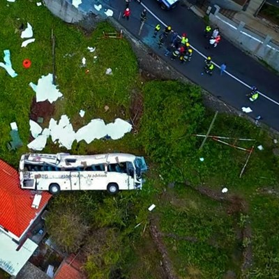 29 German tourists die in bus crash