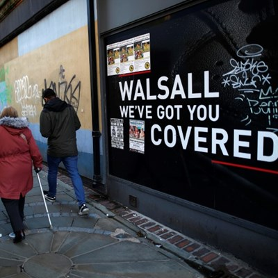 British town Walsall pays dearly for UK retail crisis