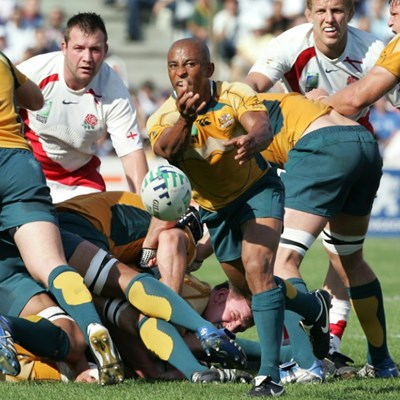 Wallabies legend Gregan tips Eddie's England to lift World Cup