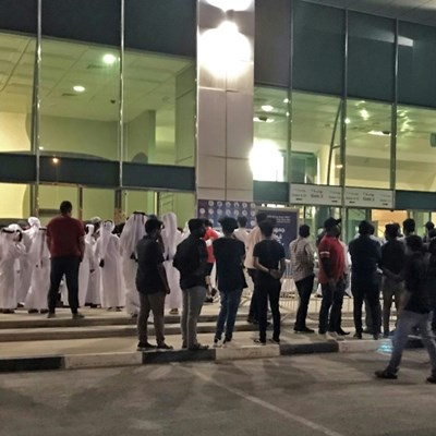 Delight, chaotic scenes as Qatar held by India in World Cup qualifier