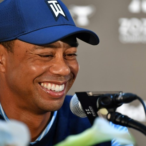 Fit Tiger Woods hints he'll pick himself for Presidents Cup