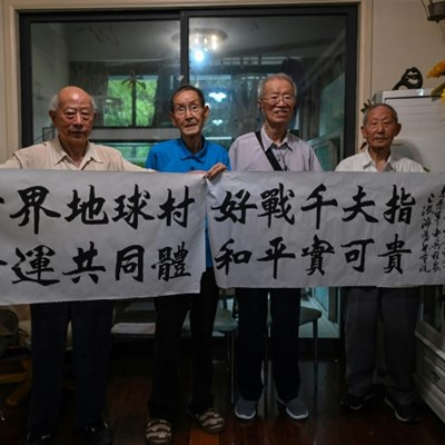 Chinese veterans of Korean War urge peace as tensions with US mount