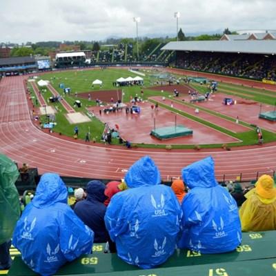 World Athletics officials happy with Eugene stadium work
