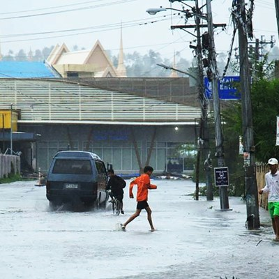 Typhoon forces re-scheduling at Philippines' SEA Games