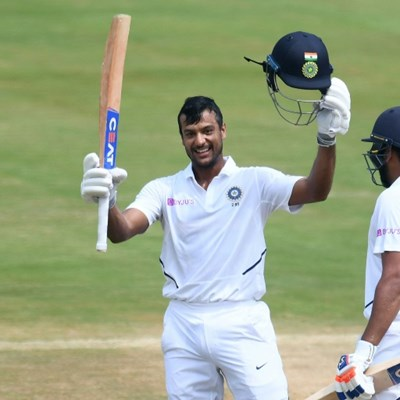 Sharma, Agarwal pummel South Africa with record stand