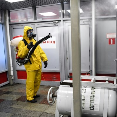 Russian PM recovers from virus as infection rates slow