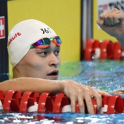 Swimming bad boy Sun just a big softie, says coach